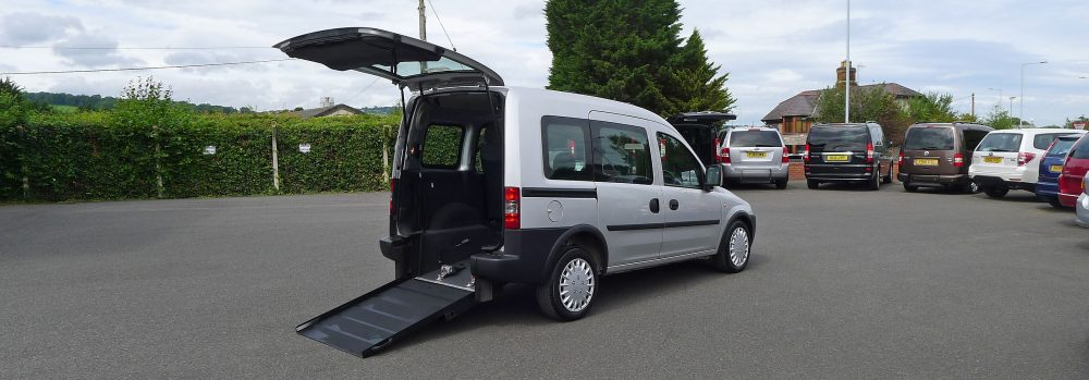 Wheelchair accessible Vauxhall Combo