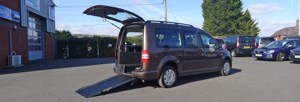 Photo To Show Car With Wheelchair Access