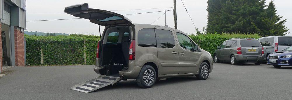 Car To Take Wheelchair Photo