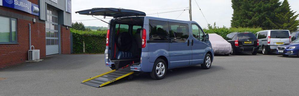Renault Trafic To Take Wheelchair