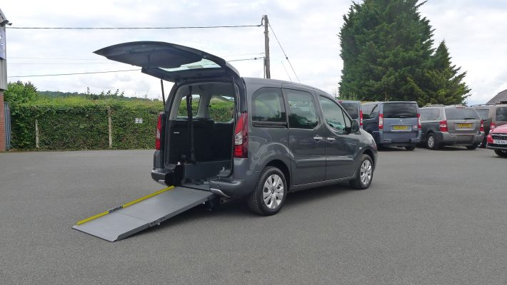 Car To Take Wheelchair In Back