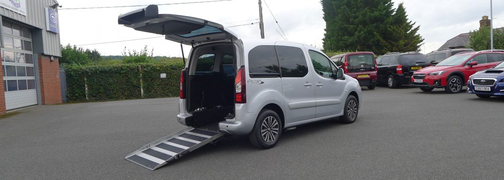 Car Showing Wheelchair Access