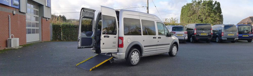 Photo of Tourneo Showing Wheelchair Access