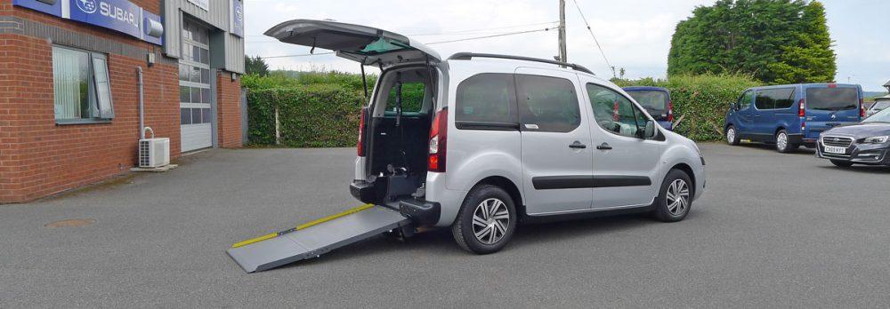 Wheelchair Accessible Citroen Berlingo