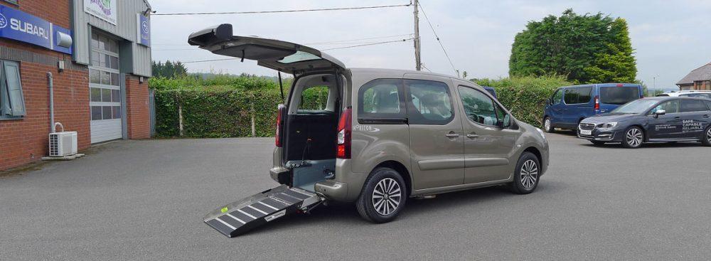 Peugeot Partner Wheelchair Access Car