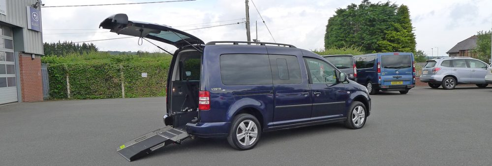 Wheelchair Access VW Caddy