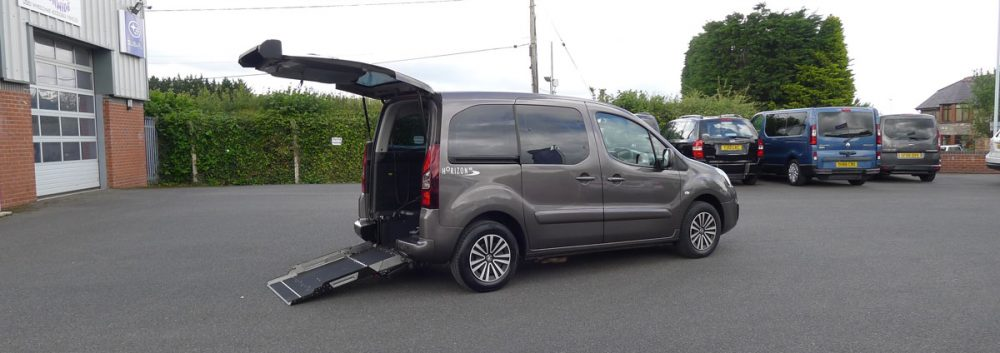 Wheelchair Accessible Peugeot