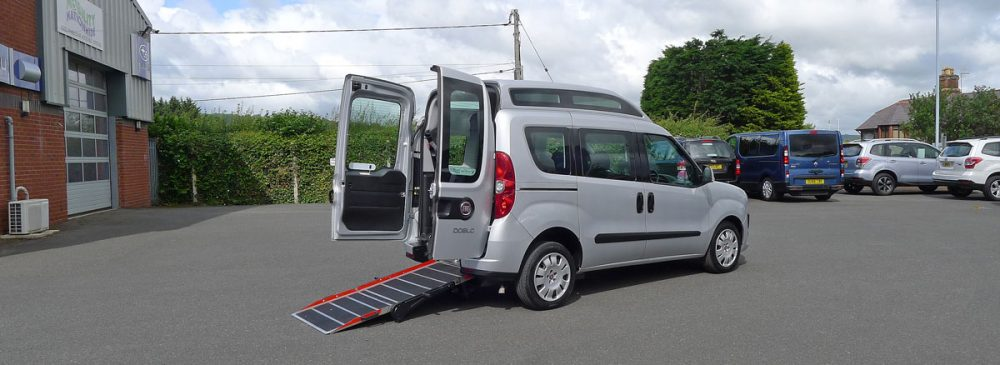 Wheelchair Adapted Fiat Doblo