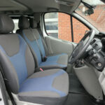 Mobility Nationwide | Used Wheelchair Accessible Vehicles | Renault Trafic Sport front seats