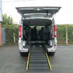 Mobility Nationwide | Used Wheelchair Accessible Vehicles | Renault Trafic Sport ramp