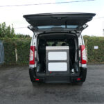 Mobility Nationwide | Used Wheelchair Accessible Vehicles | Peugeot Expert Teepee stowed ramp