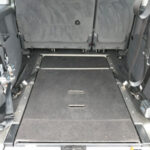 Mobility Nationwide | Used Wheelchair Accessible Vehicles | VW Caddy Maxi Life ramp stowed