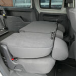 Mobility Nationwide | Used Wheelchair Accessible Vehicles | VW Caddy Maxi rear seats folded