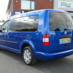 Mobility Nationwide | Used Wheelchair Accessible Vehicles | VW Caddy Maxi rear side