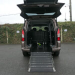 Mobility Nationwide | Used Wheelchair Accessible Vehicles | Partner with ramp down