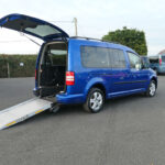 Mobility Nationwide | Used Wheelchair Accessible Vehicles | VW Caddy Life ramp