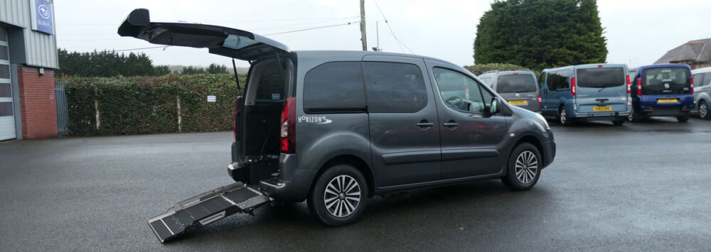 Mobility Nationwide | Used Wheelchair Accessible Vehicles | Peugeot plus ramp