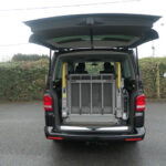 Mobility Nationwide | Used Wheelchair Accessible Vehicles | VW Caravelle lift stowed