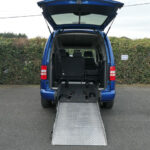 Mobility Nationwide | Used Wheelchair Accessible Vehicles | Ramp to Caddy Life