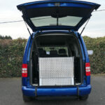 Mobility Nationwide | Used Wheelchair Accessible Vehicles | Ramp stowed Caddy Life