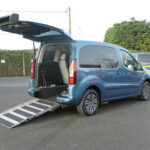 Mobility Nationwide   Used Wheelchair Accessible Vehicles   Blue Partner ramp
