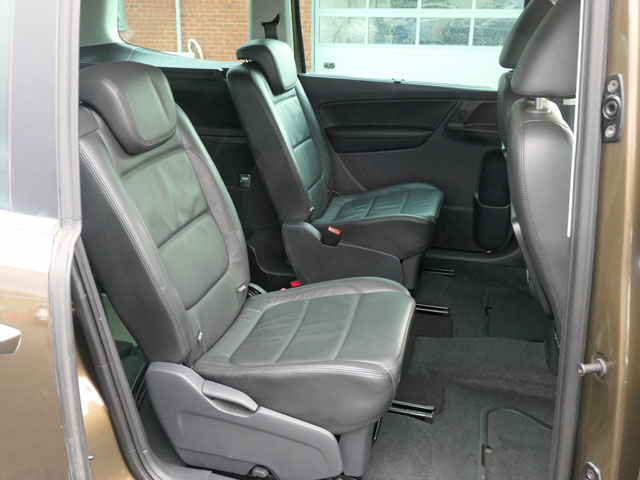 Mobility Nationwide   Used Wheelchair Accessible Vehicles   Alhambra rear seats