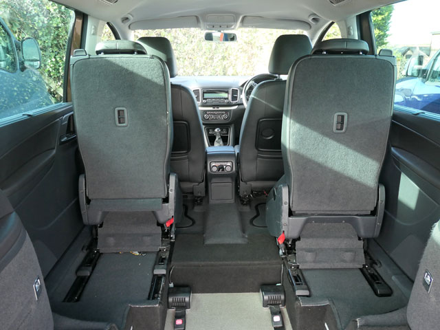 Mobility Nationwide   Used Wheelchair Accessible Vehicles   Alhambra rear view back seats