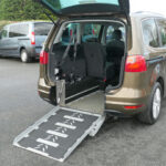 Mobility Nationwide | Used Wheelchair Accessible Vehicles | Alhambra side view rear ramp