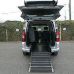 Mobility Nationwide | Used Wheelchair Accessible Vehicles | Peugeot Partner ramp to rear