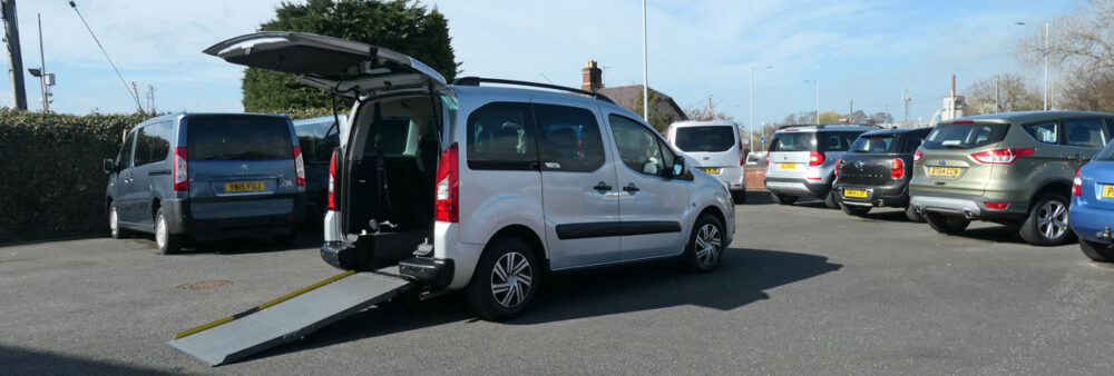 Mobility Nationwide   Used Wheelchair Accessible Vehicles   Berlingo and ramp