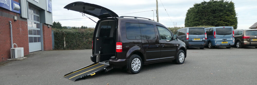 Mobility Nationwide | Used Wheelchair Accessible Vehicles | VW Caddy Life