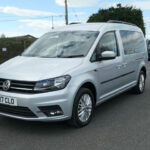 Mobility Nationwide   Used Wheelchair Accessible Vehicles   VW Caddy Maxi front side view