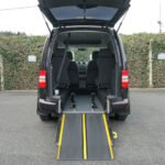 Mobility Nationwide | Used Wheelchair Accessible Vehicles | VW Caddy Life ramp into back