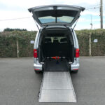 Mobility Nationwide   Used Wheelchair Accessible Vehicles   Caddy Maxi ramp down