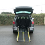 Mobility Nationwide   Used Wheelchair Accessible Vehicles   VW Sharan ramp down