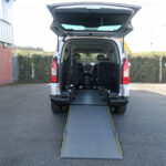 Mobility Nationwide   Used Wheelchair Accessible Vehicles   Berlingo ramp to rear