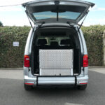 Mobility Nationwide   Used Wheelchair Accessible Vehicles   Caddy Maxi ramp stowed