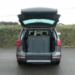 Mobility Nationwide   Used Wheelchair Accessible Vehicles   VW Sharan ramp stowed
