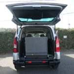 Mobility Nationwide   Used Wheelchair Accessible Vehicles   Berlingo ramp stowed