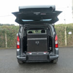 Mobility Nationwide | Used Wheelchair Accessible Vehicles | Peugeot Partner ramp upright