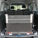 Mobility Nationwide   Used Wheelchair Accessible Vehicles   Peugeot Partner ramp upright & folded