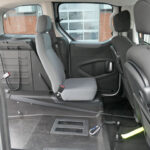Mobility Nationwide | Used Wheelchair Accessible Vehicles | Peugeot Partner rear seat