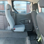 Mobility Nationwide | Used Wheelchair Accessible Vehicles | Peugeot Partner rear seats