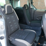 Mobility Nationwide   Used Wheelchair Accessible Vehicles   Berlingo rear seats