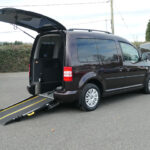 Mobility Nationwide | Used Wheelchair Accessible Vehicles | VW Caddy Life ramp side view