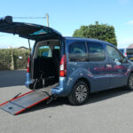 Mobility Nationwide   Used Wheelchair Accessible Vehicles   Partner side view ramp