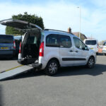Mobility Nationwide   Used Wheelchair Accessible Vehicles   Berlingo ramp side view