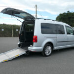 Mobility Nationwide   Used Wheelchair Accessible Vehicles   VW Caddy Maxi side view