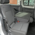 Mobility Nationwide   Used Wheelchair Accessible Vehicles   VW Caddy Maxi seats folded