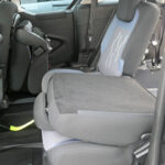 Mobility Nationwide   Used Wheelchair Accessible Vehicles   Peugeot Partner folded seat